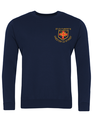 St Cuthberts R.C. Primary School Chester-le-Street Navy Sweatshirt