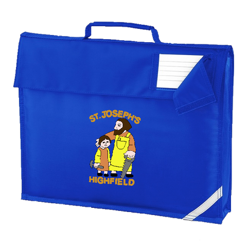 St Joseph's Highfield R.C.V.A. Primary School Royal Blue Book Bag