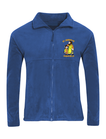 St Joseph's Highfield R.C.V.A. Primary School Royal Blue Fleece Jacket