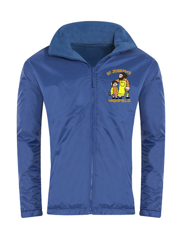 St Joseph's Highfield R.C.V.A. Primary School Royal Blue Showerproof Jacket