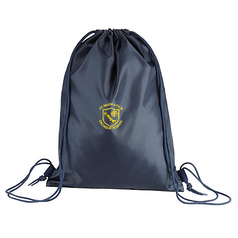 St Michael's Catholic Primary School - Houghton Le Spring Navy Gym Bag