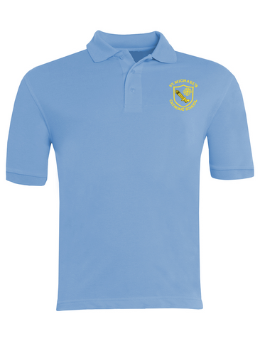 St Michael's Catholic Primary School - Houghton Le Spring Sky Blue Polo