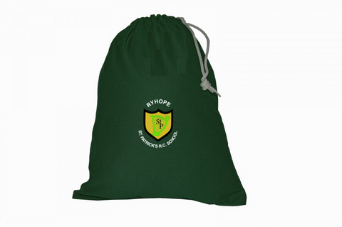 St Patrick's R.C. Primary School - Ryhope Bottle Green Gym Bag