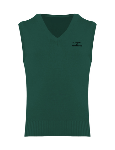 St Robert Of Newminster Catholic School Bottle Green Tank Top (Year 7 - 9)