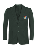 St Robert Of Newminster Catholic School Boys Bottle Green Blazer - Blue Badge