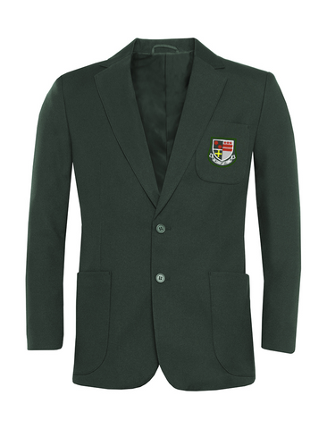 St Robert Of Newminster Catholic School Boys Bottle Green Blazer - Green Badge