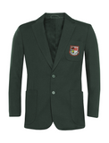 St Robert Of Newminster Catholic School Boys Bottle Green Blazer - Red Badge