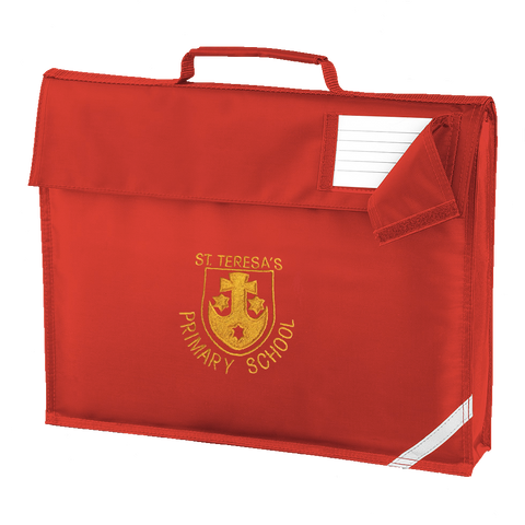 St Teresa's Catholic Primary School Red Book Bag