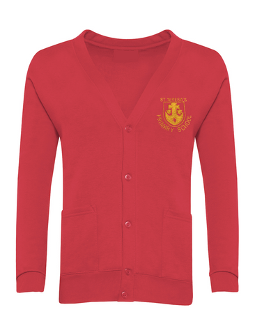 St Teresa's Catholic Primary School Red Cardigan