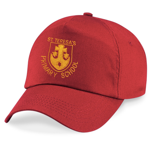 St Teresa's Catholic Primary School Red Peaked Cap