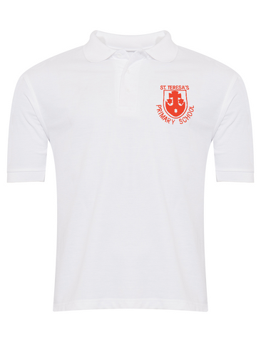St Teresa's Catholic Primary School White Polo