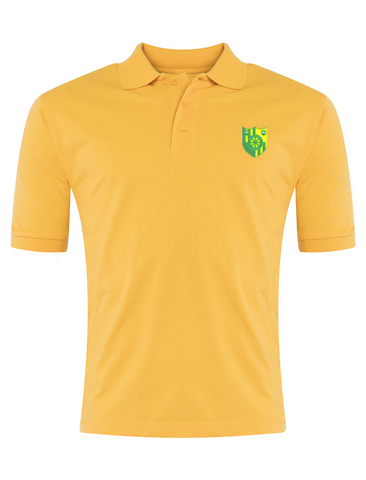 Stanhope Primary School Yellow P.E. Polo