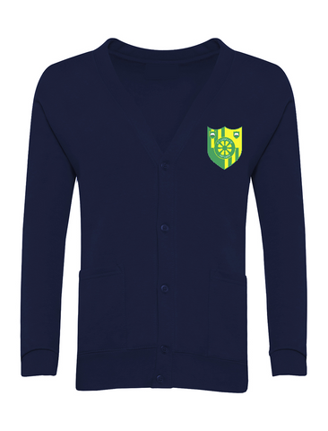 Stanhope Primary School Navy Cardigan