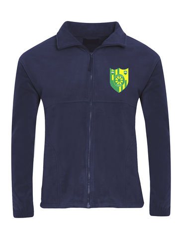 Stanhope Primary School Navy Fleece Jacket