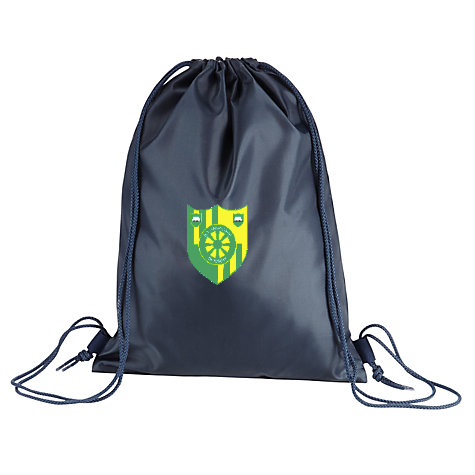 Stanhope Primary School Navy Gym Bag
