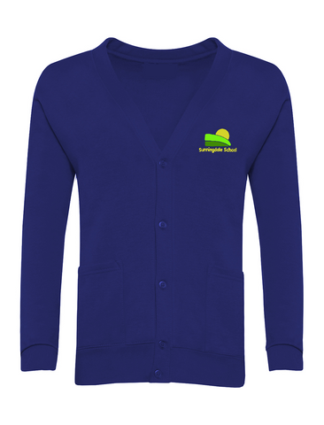 Sunningdale School - Sunderland Royal Blue Cardigan