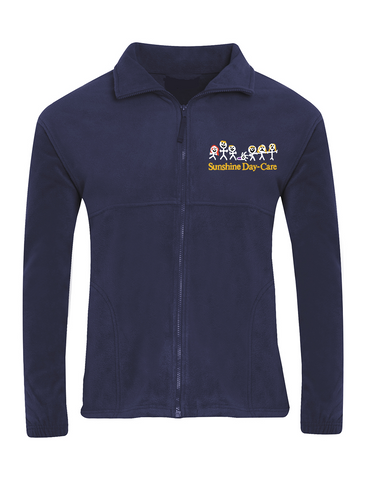 Sunshine Day-Care Nursery Navy Fleece Jacket