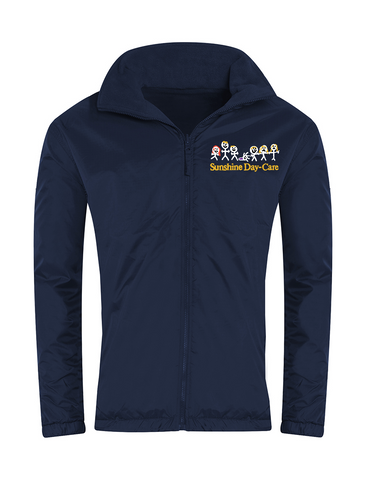 Sunshine Day-Care Nursery Navy Showerproof Jacket