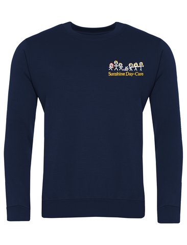 Sunshine Day-Care Nursery Navy Sweatshirt