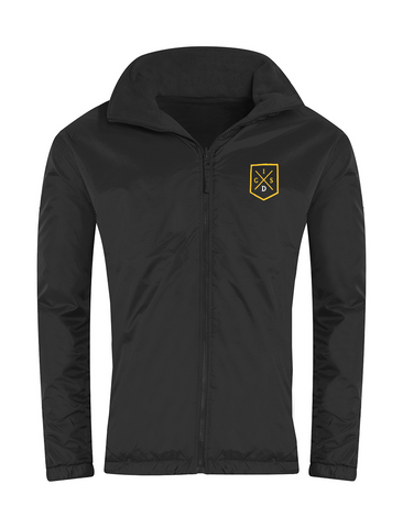 The Independent Grammar School : Durham Black Showerproof Jacket