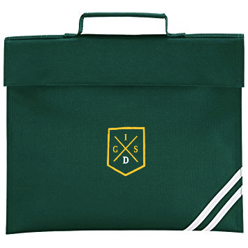 The Independent Grammar School : Durham Bottle Green Book Bag