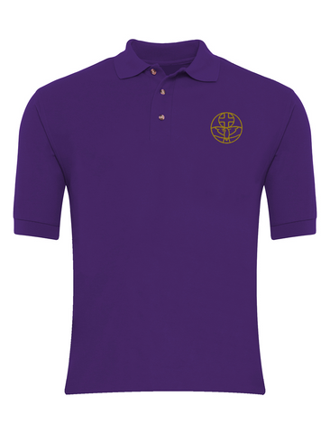 The Venerable Bede Academy Purple P.E. Polo