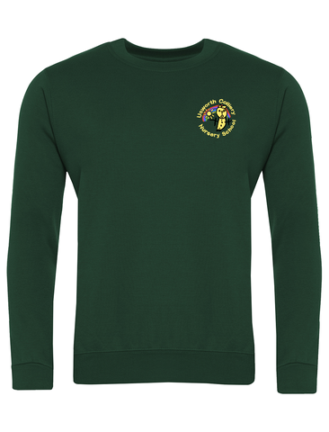 Usworth Colliery Nursery School Bottle Green Sweatshirt