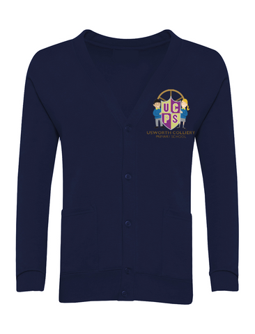 Usworth Colliery Primary School Navy Cardigan