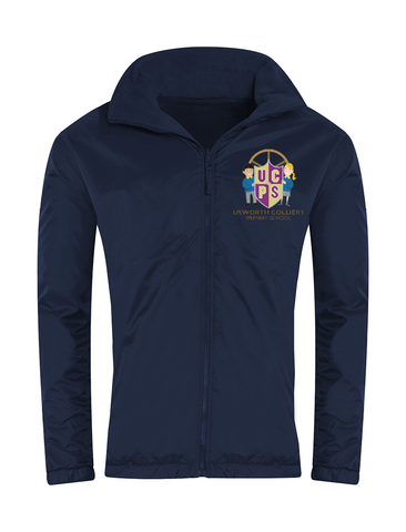 Usworth Colliery Primary School Navy Showerproof Jacket