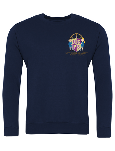 Usworth Colliery Primary School Navy Sweatshirt