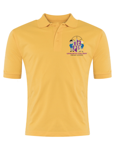 Usworth Colliery Primary School Yellow Polo