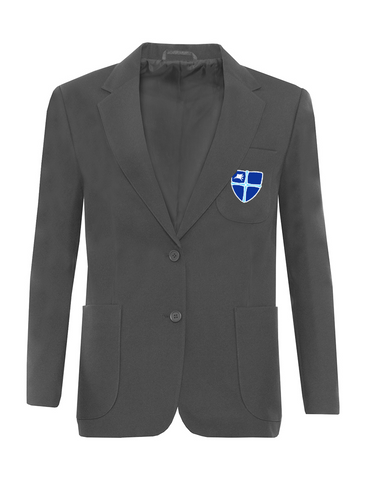 Wellfield School in Wingate, County Durham Girls Grey Blazer