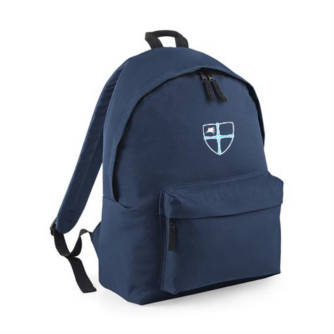 Wellfield School in Wingate, County Durham French Navy Backpack