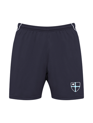 Wellfield School in Wingate, County Durham Navy P.E. Shorts