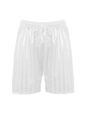 White Zeco P.E. Shorts
