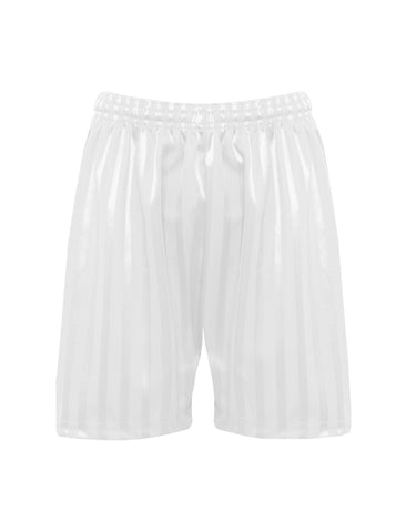 St Mary's Catholic School Boy's White P.E. Shorts