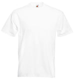 Plain White Round Neck P.E. T-Shirt