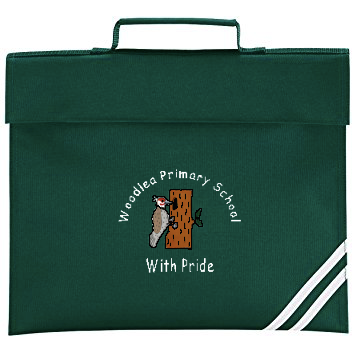 Woodlea Primary School Green Book Bag