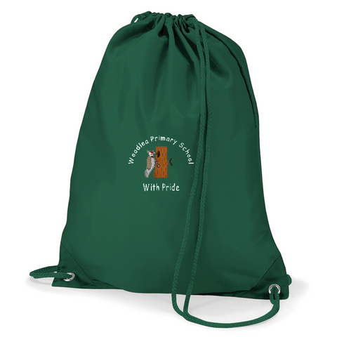Woodlea Primary School Bottle Green Gym Bag