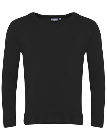 Southmoor Academy Black V-Neck Jumper