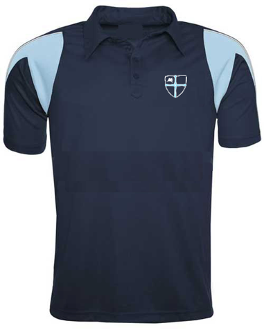 Wellfield School Navy P.E. Polo