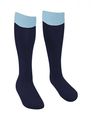 Wellfield School Navy P.E. Football Socks