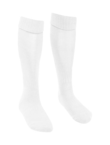 St Mary's Catholic School Newcastle White Football Socks