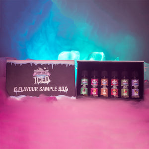 6 Flavour ICED Sample Box