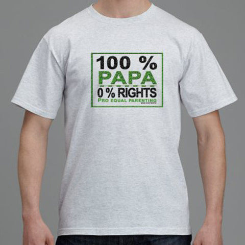 Parental Alienation T-Shirt - 0% Rights - Sothebees