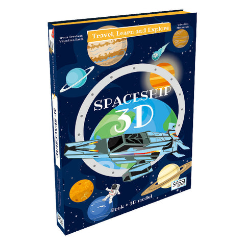 Travel, Learn and Explore: 3D Spaceship