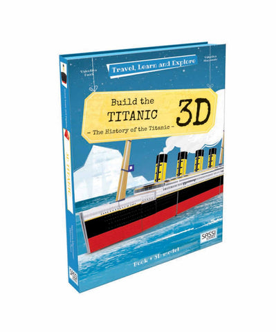 Travel, Learn and Explore: 3D Build The Titanic