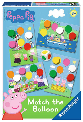 Balloon Game: Peppa Pig - Match the Balloon