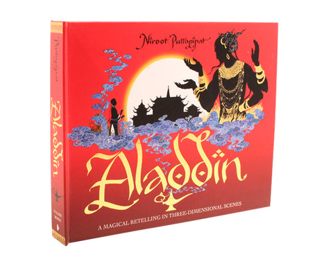 Aladdin Pop-Up Book by Niroot Puttapipat