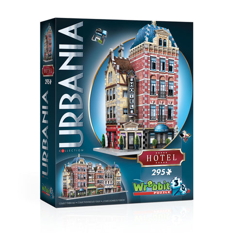 3D Puzzles: Urbania Collection - Hotel